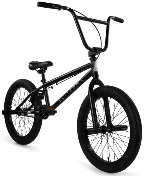 Elite 20quot; BMX Stealth Bicycle Freestyle Bike 1 Piece Crank Black NEW 2021 $269.00
