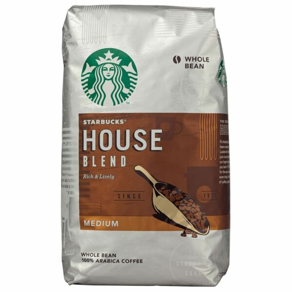 Starbucks House Blend Whole Bean Coffee 40 oz. FREE Shipping!
