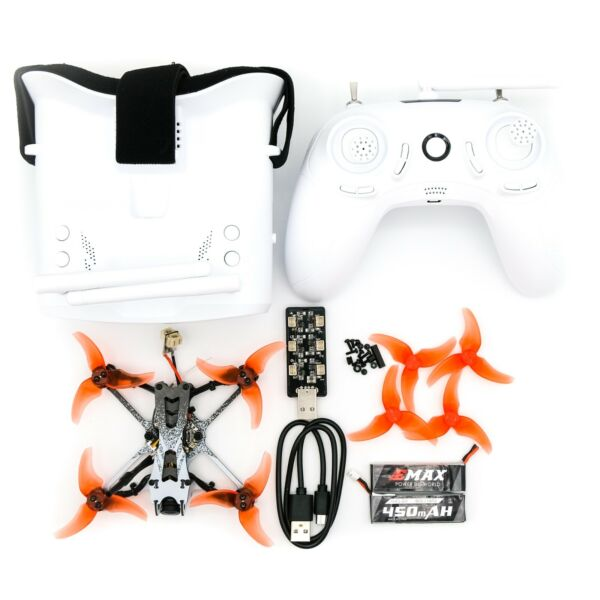 EMAX Tinyhawk 1S Brushless Micro Racing Drone Whoop + Battery + Case + Charger