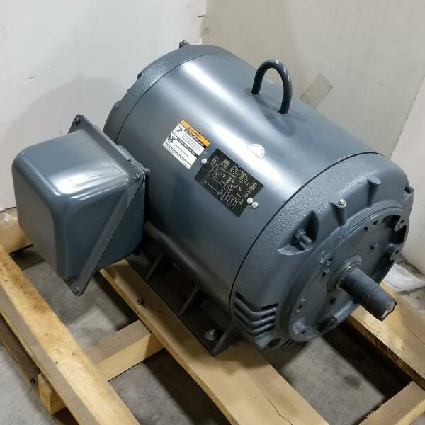 LINCOLN 75 HP 3600 RPM ODP 230 460 VOLTS 364TSC FOOTED 3 PHASE MOTOR LM15569 $1932.00