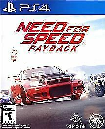 NEED FOR SPEED: PAYBACK  (PS 4 2017) (5222)                   FREE SHIPPING USA