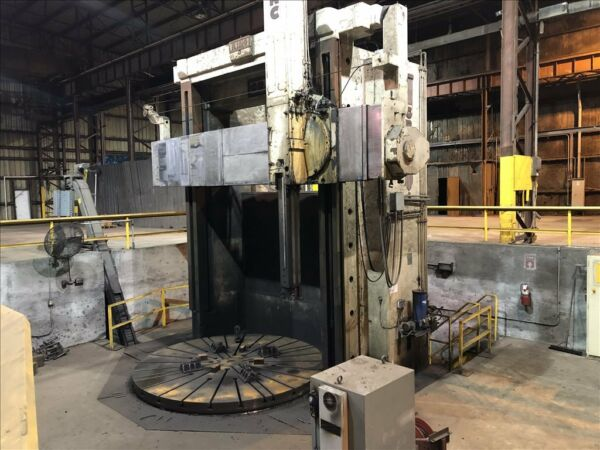 GRAY 144  CNC VERTICAL BORING MILL B39017
