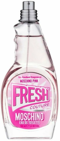 Pink Fresh Couture by Moschino for women EDT 3.3 3.4 oz New Tester $25.08