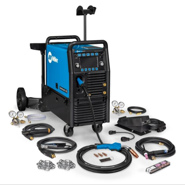 Miller Multimatic 255 Pulsed Multiprocess Welder wCart and TIG Kit (951768)