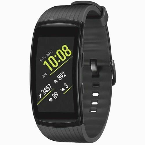 Samsung Gear Fit2 Pro Fitness SM-R365 Aluminum Smartwatch - Black