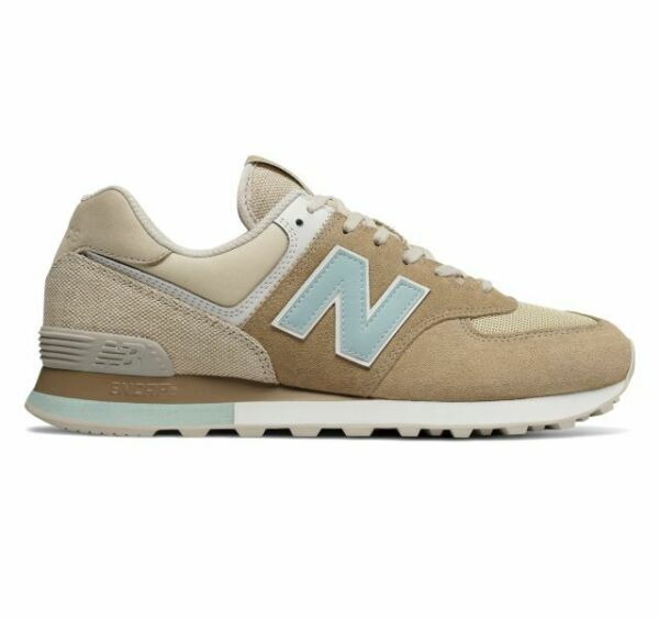 New! Mens New Balance 574 Retro Surf Sneakers Shoes - Hemp