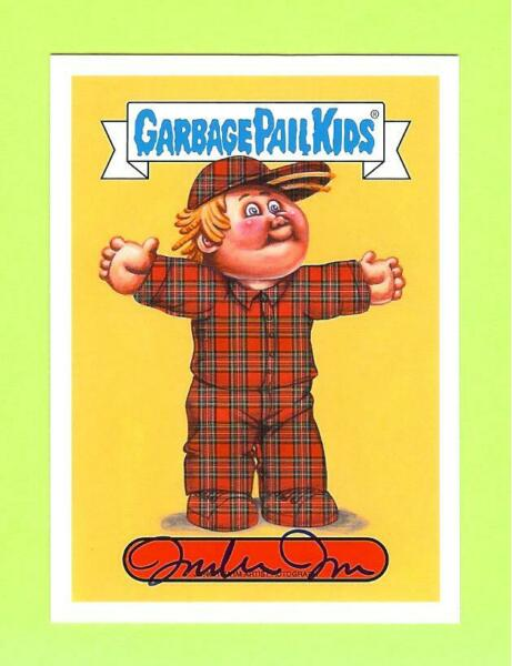 2019 GARBAGE PAIL KIDS WE HATE THE 90'S JUNGHWA IM AUTO AUTOGRAPH #1225