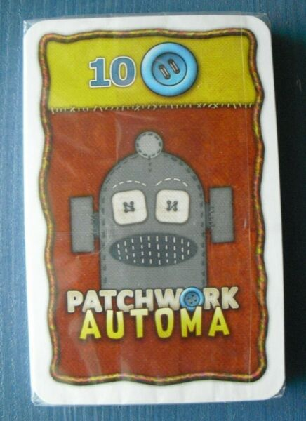 Patchwork Automa: Solo Play Expansion for Patchwork Board Game
