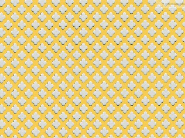 2 sq.m. foil plate perforated gold for covered radiators stoves and fireplaces 6