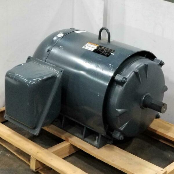 LINCOLN 125 HP 3600 RPM TEFC 460 VOLTS 444TS FRAME 3 PHASE MOTOR LM13547 $3663.90