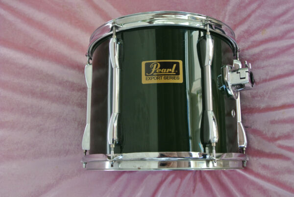 ADD this PEARL 12quot; EXPORT SERIES GREEN RACK TOM to YOUR DRUM SET LOT #T311 $107.95