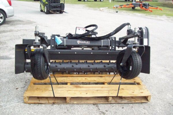 Bobcat-Harley Landscape Power RakeM6H 6' Hydraulic AngleFits all Skid Steers