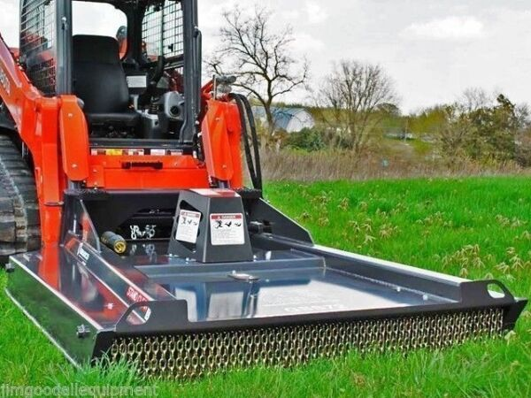 Bradco Skid Steer Brushcutter GSS72quot; Cuts 4quot; TreesGreat For Fire Prevention