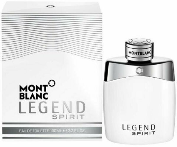 LEGEND SPIRIT by Mont Blanc cologne for men EDT 3.3 3.4 oz New in Box