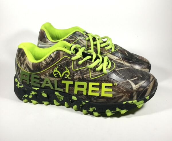 M3576L New Men's Realtree Outfitters Panther Camoflauge Hiking Shoe US 8 4E Wide