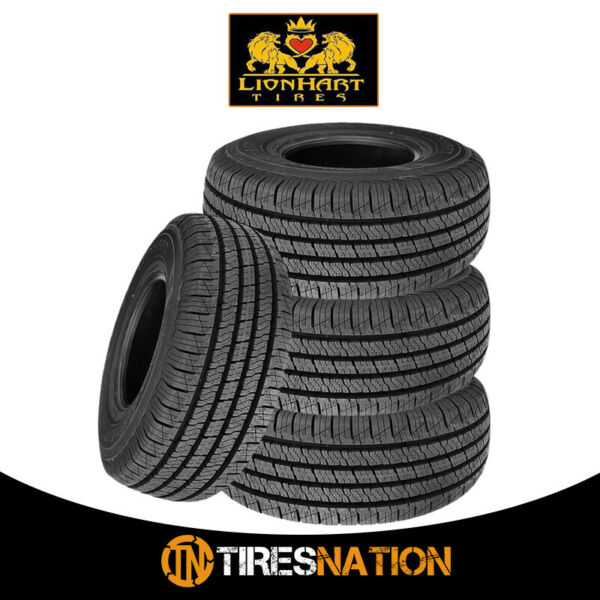 (4) New Lionhart Lionclaw HT 23565R17 103T Crossover SUV Touring Tires