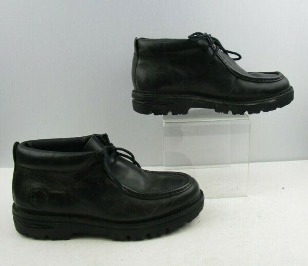 Mens Timberland Black Leather Ankle Boots Size : 11 M $59.99