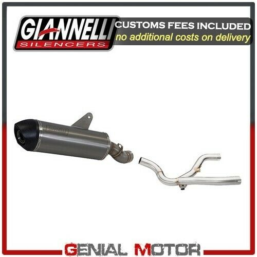 Exhaust Muffler Giannelli X-Pro Tit Central Link Pipe Bmw R 1150 Gs 2003