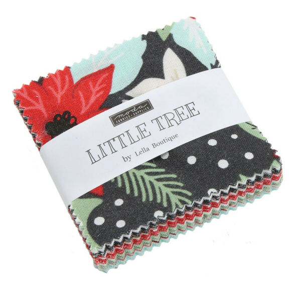 Little Tree Moda Mini Charm Pack 42 100% Cotton 2.5quot; Precut Quilt Squares