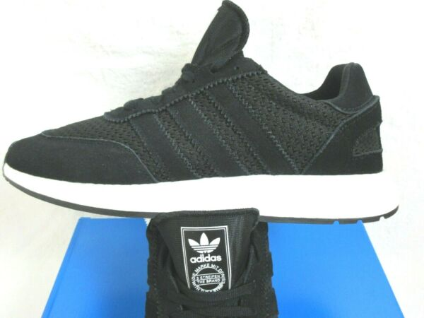 Adidas Originals Mens I 5923 Running Shoes Black White Suede Mesh Size 9 NWT