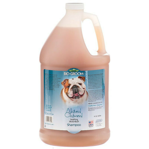 Bio Groom Natural Oatmeal Soothing Anti-Itch Shampoo for Dogs 1 gallon (3.78 L)