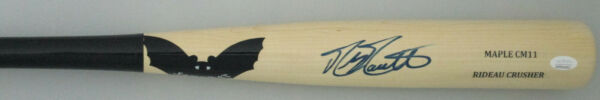 Brewers MIKE MOUSTAKAS Signed SAM BAT Official Game Model Bat AUTO - JSA
