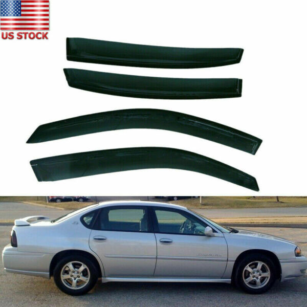 Fit for Chevy Impala 2000-2005 Window Visor Rain Wind Deflector Left