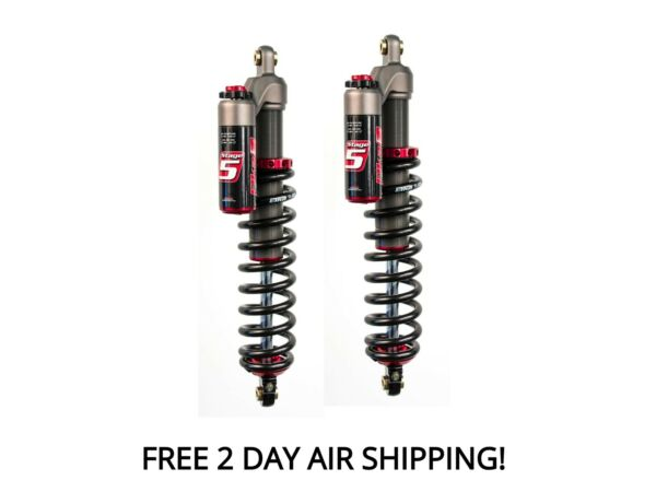 Elka Stage 5 Front Shocks Suspension Pair Arctic Cat M 8000 Snow Pro 2018