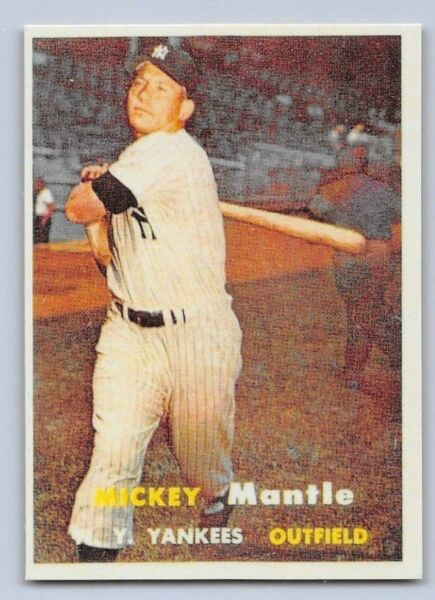 1957  MICKEY MANTLE - Topps -