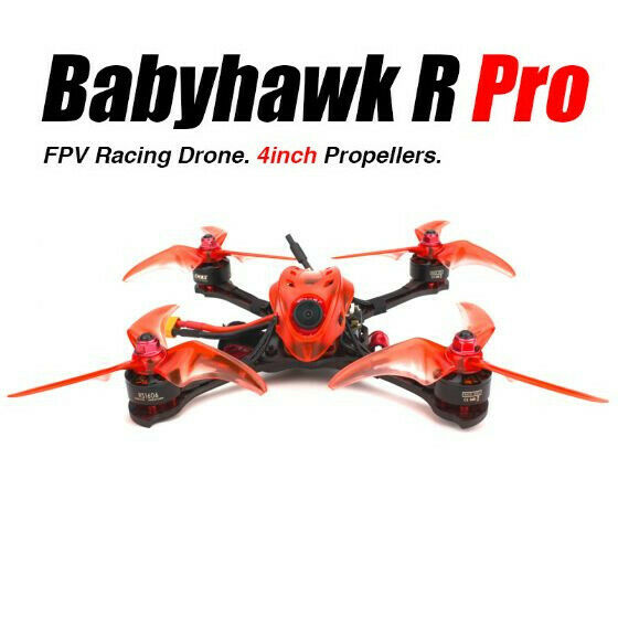 EMAX Babyhawk R 4 Inch Pro Quadcopter With Battery included 4s 850mah FPV Drone