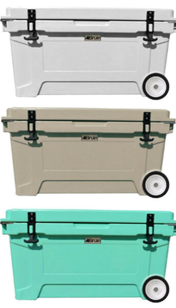 Bruin Outdoors 100L  106QT Roto-Molded Cooler and Ice Box - Keeps Ice 7+ Days