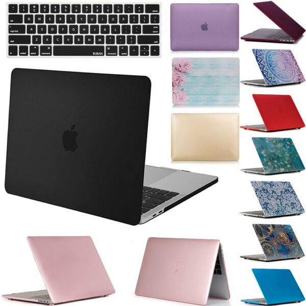 MacBook Pro 13 inch Case & Keyboard Cover 2019 2018 2017 Touch Bar A1989 A1706