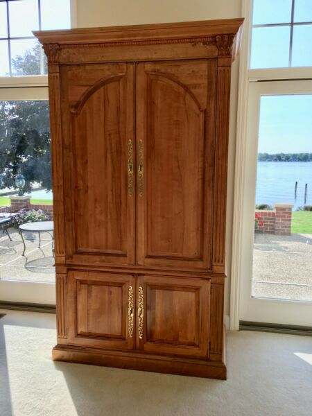 Ethan Allen Legacy Entertainment TV Armoire with storage Looks NEW ~ Ret: $3500