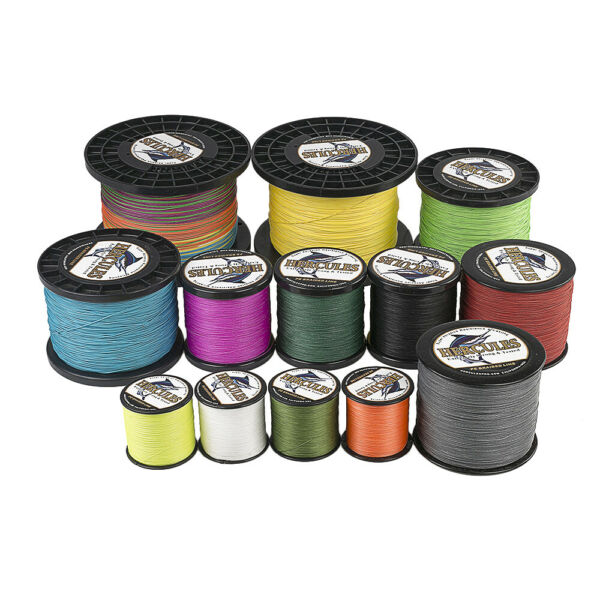8 Strands Hercules 200lbs PE Braided Fishing Line 100 300 500 1000 1500 2000M