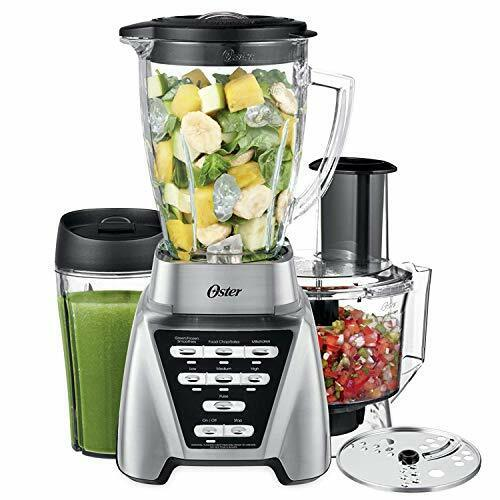Oster Blender | Pro 1200 with Glass Jar, 24-Ounce Smoothie Cup and Food Proce...