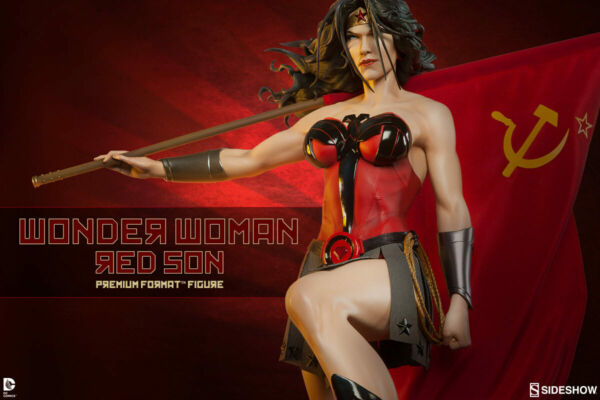 Wonder Woman Red Son 14 Premium Format Statue Sideshow Collectibles