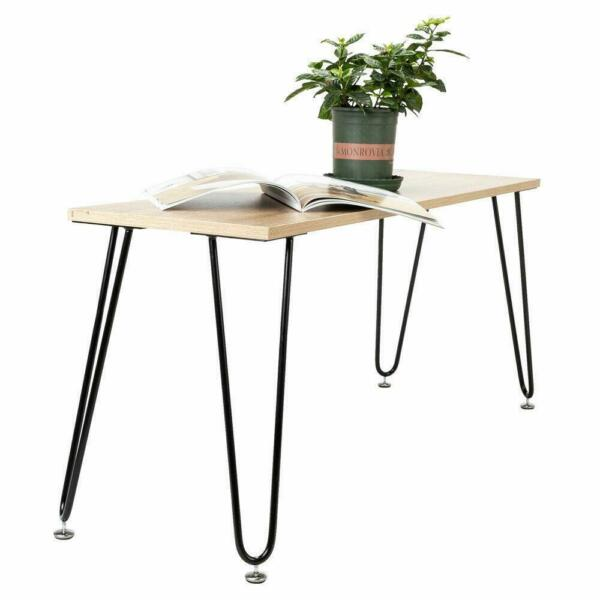 NEW Coffee Metal Table Desk Hairpin Legs 16