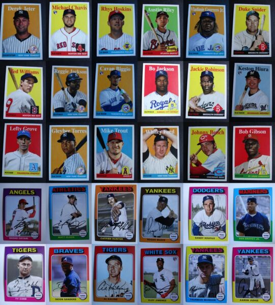 2019 Topps Archives Baseball Cards Complete Your Set U Pick From List 1-200