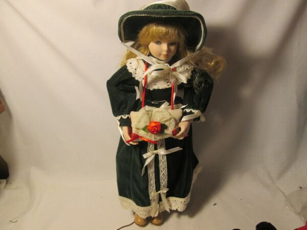 Gorham porcelain dolls Gifts Of The Garden - doll 16