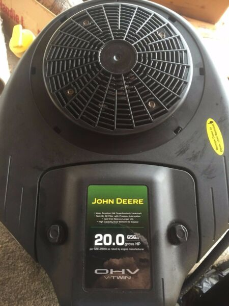 BRIGGS amp; STRATTON 20HP OHV VTWIN RIDING MOWER ENGINE FOR JOHN DEERE W WARRANTY $569.99