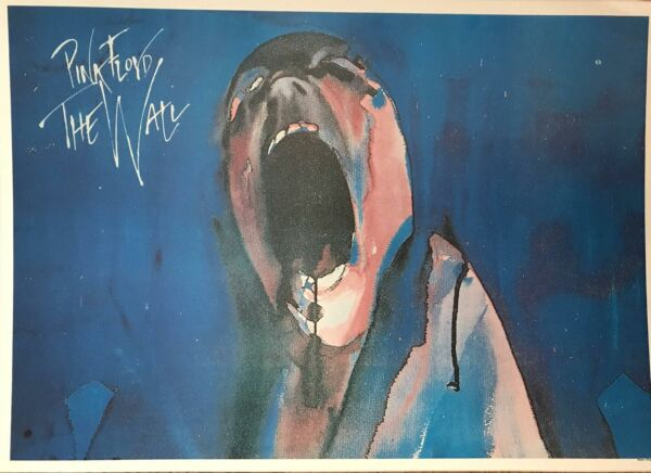 Pink Floyd The Wall Horizontal UK Import Poster 24 x 34 $41.95