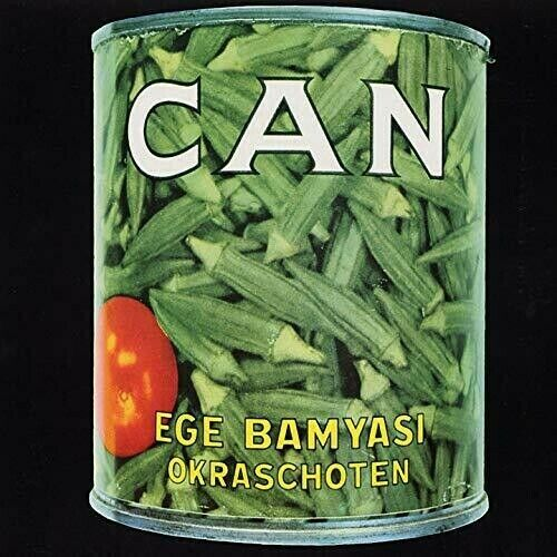 Can Ege Bamyasi New Vinyl LP Colored Vinyl Green Ltd Ed