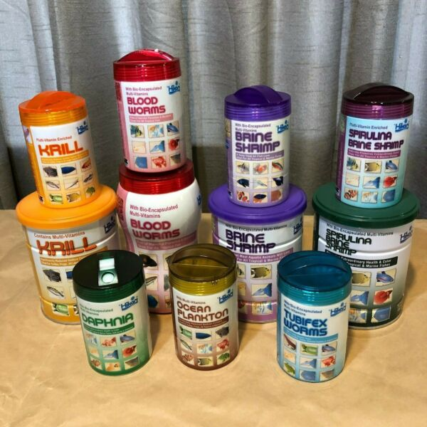 Hikari Freeze Dried ALL TYPES AND SIZES WANT IT FOR LESS? *LOOK INSIDE $8.89