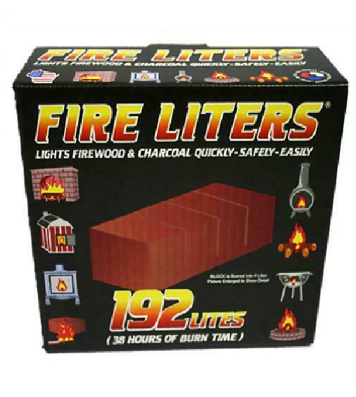 (1) FIRE LITERS FIREWOOD & CHARCOAL LIGHTERS 10192