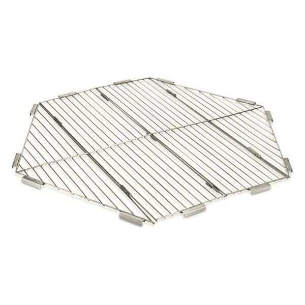 GUIDE GEAR 36 Folding Portable Stainless Steel Grate Campfire BBQ Trails Picnic