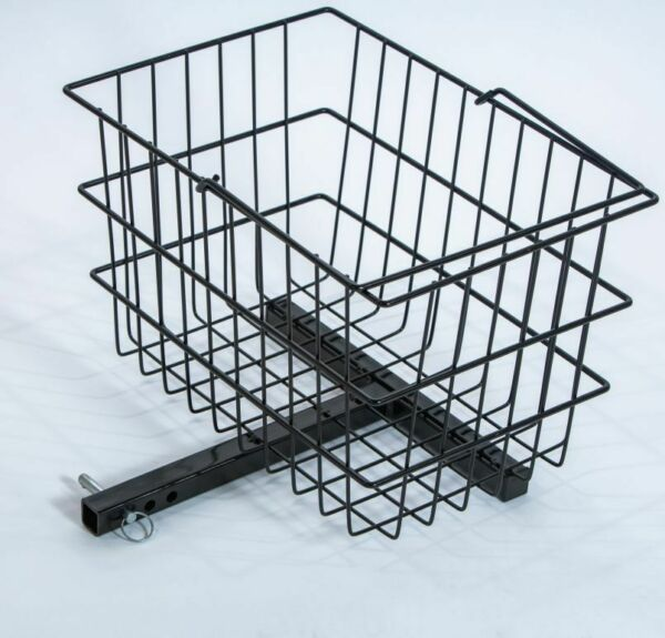 Rear Basket Accessory for Pride Mobility Scooter Sturdy Center Support $58.00