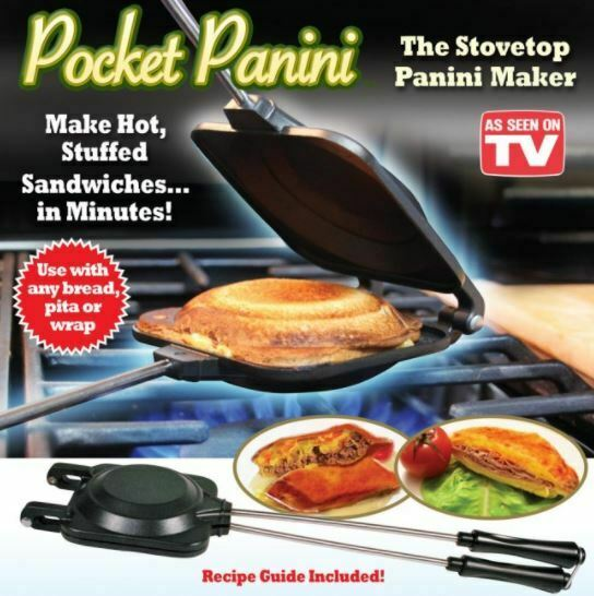 Pocket Panini Stovetop Sandwich Maker - AS SEEN ON TV