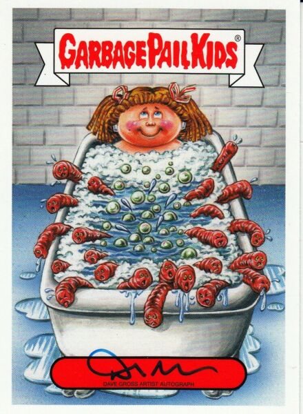 GARBAGE PAIL KIDS REVENGE OF OH THE HORROR-IBLE  AUTOGRAPH CARD FARTING FRAN SUE