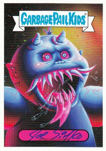 2019 GARBAGE PAIL KIDS REVENGE OF OH THE HORROR-IBLE AUTOGRAPH DEMON DAIMON