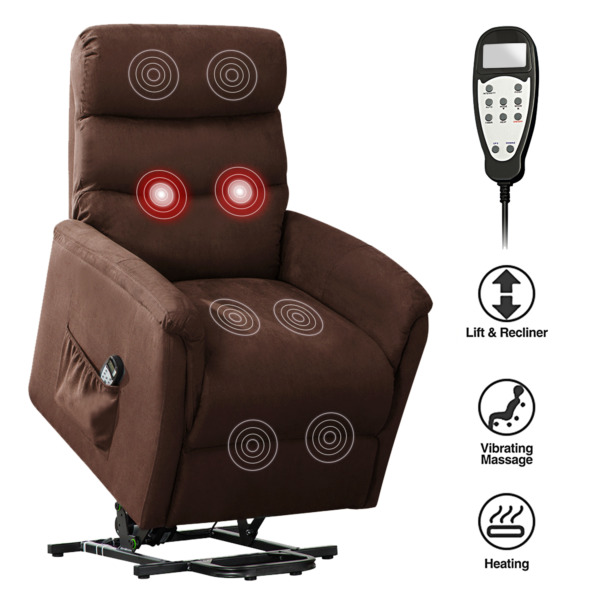 ELECTRIC RECLINER LIFT CHAIR ARMCHAIR SOFA LOUNGE GAMING SEAT PADDED LIVING ROOM